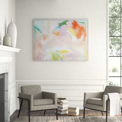 Lillian August 'Wishful Thoughts 1' Framed Print on Canvas - Perigold