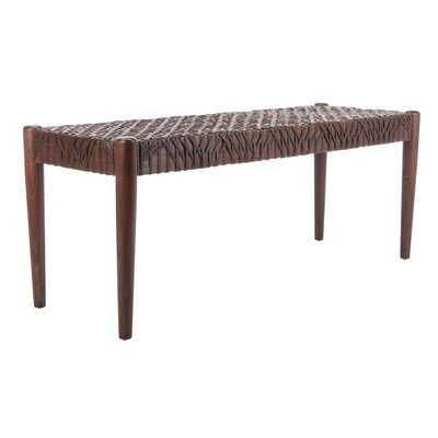 Amelia Wood Bench - AllModern