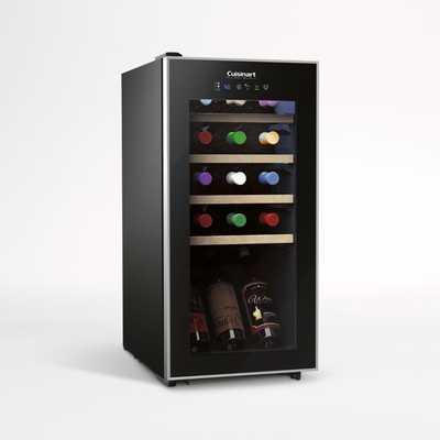 Cuisinart ® 15-Bottle Private Reserve ® Compressor Wine Cellar - Crate and Barrel