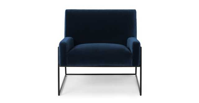Regis Cascadia Blue Lounge Chair - Article