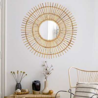 Susie Handmade Boho Modern and Contemporary Accent Mirror - Wayfair