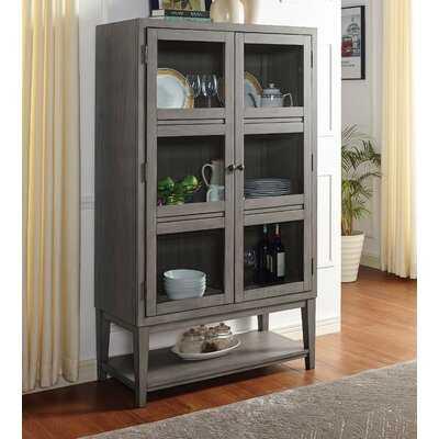 Petrak Curio Cabinet - Wayfair