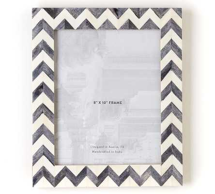 "Bodhi Bone Picture Frame, Gray, 8"" x 10"" - Pottery Barn"