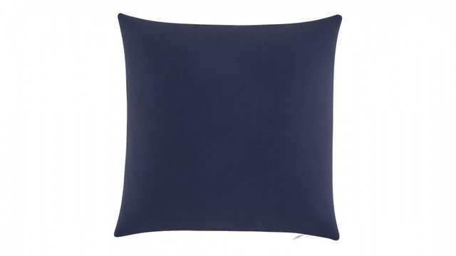 """Throw Pillow 18""""   Navy Velvet - The Inside"""