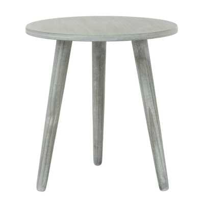 Safavieh Orion End Table Color: Slate Gray - Perigold