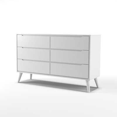 Staton 6 Drawer Double Dresser - AllModern