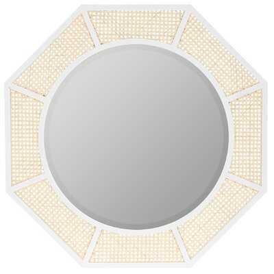 Cadena Black Wall Mirror - Wayfair