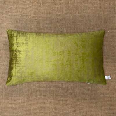 "Tatianina Velvet Down Indoor Solid Color Rectangular 12"" Throw Pillow - Wayfair"