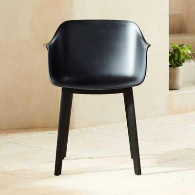 Shape Black Molded Chair - CB2