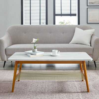 Edmondson Coffee Table with Storage - Wayfair