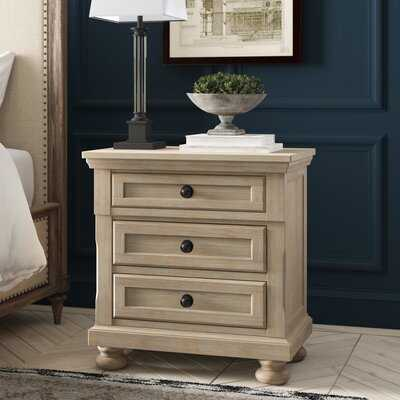 Willesden 3 Drawer Nightstand - Wayfair