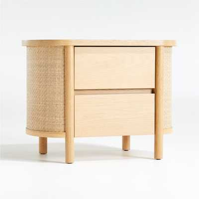 Canyon Natural Nightstand - Crate and Barrel