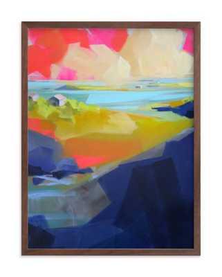 Gone Coastal Art Print - Minted