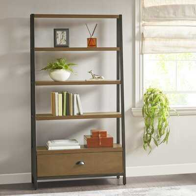 Catlett 70.5'' H x 38'' W Ladder Bookcase - Wayfair