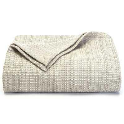 Bamboo Woven Cotton Blanket - Birch Lane