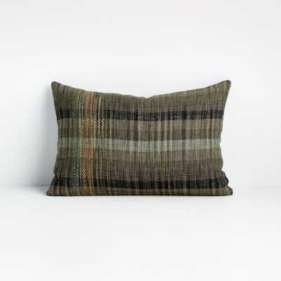 """Roya 18""""x12"""" Pillow Cover - Crate and Barrel"""