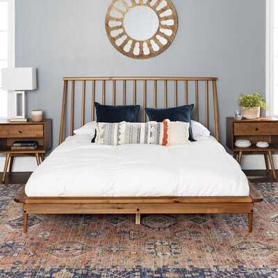 Dorinda Spindle Queen Platform Bed - Wayfair