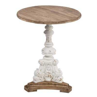 Hewitt Round End Table - Wayfair