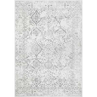 Youati Floral Ivory/Gray/Cream Area Rug - Wayfair