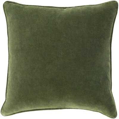 "Aubin Cotton 18"" Throw Pillow Cover - AllModern"
