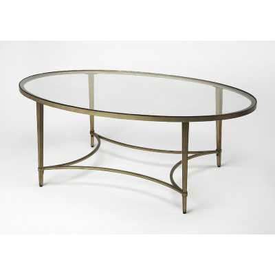 Monica Oval Coffee Table - Perigold