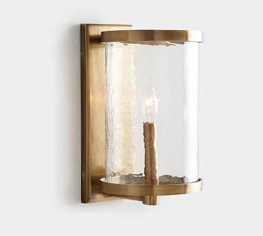 Murano Sconce, Antique Brass - Pottery Barn