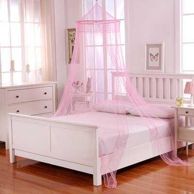 Jaymes Kids Collapsible Hoop Sheer Bed Canopy - Wayfair