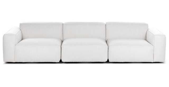 Solae Chill White Modular Sofa - Article