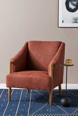 Graham Armchair By Anthropologie in Orange - Anthropologie