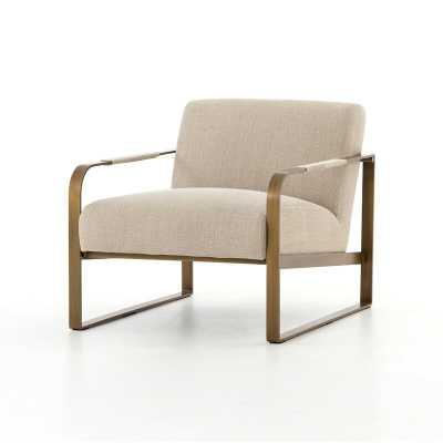 Four Hands Valdosta Armchair Fabric: Beige- Back in Stock Feb 18, 2021. - Perigold
