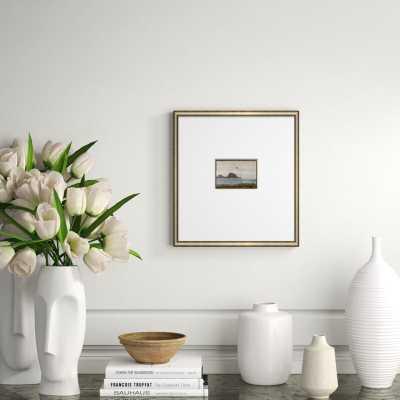 Soicher Marin 'Dreams of Stone-Small' Framed Print in Gray/Blue - Perigold