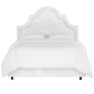 Priscilla Arched Border Upholstered Standard Bed - Wayfair