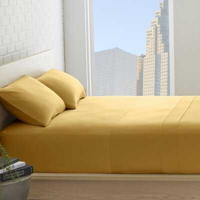 Bridgecliff Combed 530 Thread Count 100% Combed Cotton Solid Sheet Set - Wayfair