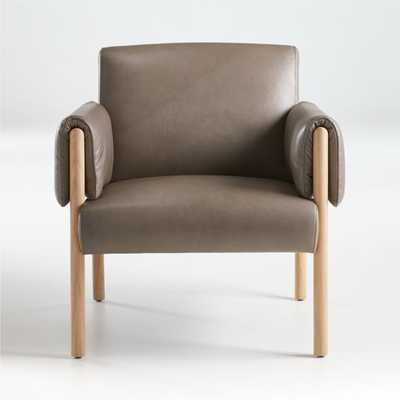 Diderot Leather Chair - Crate and Barrel