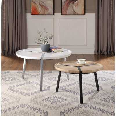 Wessels 2 Piece Coffee Table Set - Wayfair