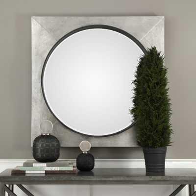 Solomon Metallic Silver Mirror - Hudsonhill Foundry