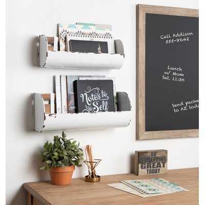 Cheshire Farmhouse 2 Piece Organizer with Wall Baskets and Mail Storage Set - Birch Lane
