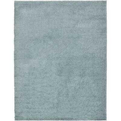 Maron Light Slate Blue Area Rug - Wayfair