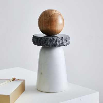 Shaped Studies Object, Totem, Set of 4 - West Elm