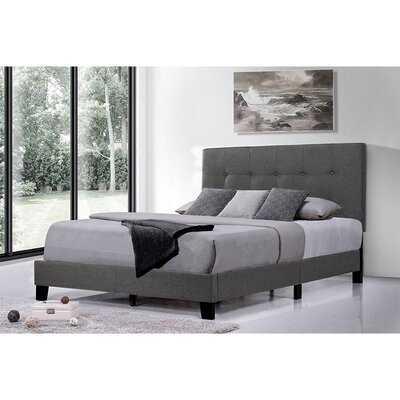 Full Upholstered Platform Bed Frame - Wayfair