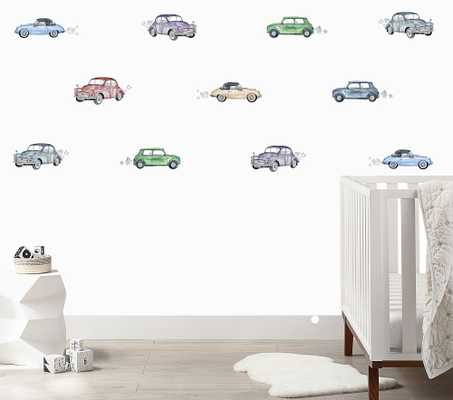 Vintage Cars Wall Decal - Pottery Barn Kids