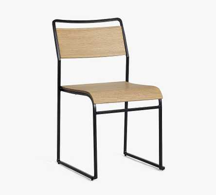 Fallon Stacking Dining Chair, Heirloom Wheat - Pottery Barn
