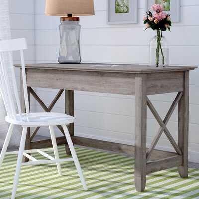 Buxton Gray Desk - Birch Lane