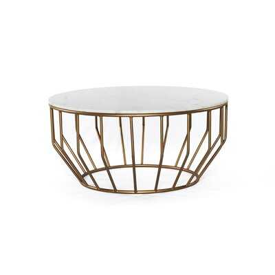 Azuela Pedestal Coffee Table - Wayfair
