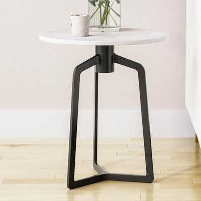 Marble 3 Legs End Table - Wayfair