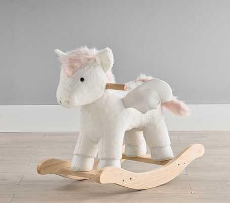 Pegasus Plush Nursery Rocker - Pottery Barn Kids