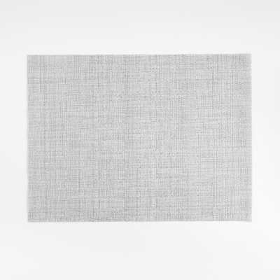 Chilewich ® Crepe Silver Placemat - Crate and Barrel