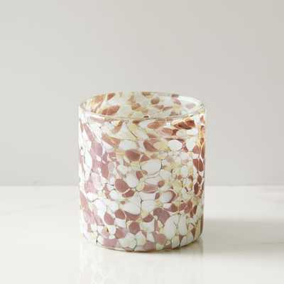 Speckled Mexican Glass Votive - West Elm