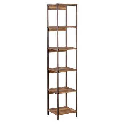Bushwick Iron Etagere Bookcase - AllModern