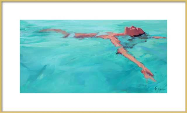 Summer Happiness by T. S. Harris for Artfully Walls - Artfully Walls